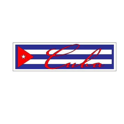 Scrapbook Customs - World Collection - Cuba - Laser Cut - Travel Topper