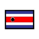 Scrapbook Customs - World Collection - Costa Rica - Laser Cut - Flag
