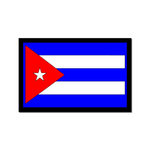 Scrapbook Customs - World Collection - Cuba - Laser Cut - Flag