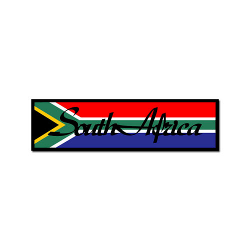 Scrapbook Customs - World Collection - South Africa - Laser Cut - Travel Topper