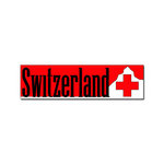 Scrapbook Customs - World Collection - Switzerland - Laser Cut - Travel Topper