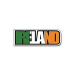 Scrapbook Customs - Travel Photo Journaling - Flag Word - Laser Cut - Ireland