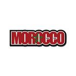 Scrapbook Customs - Travel Photo Journaling - Flag Word - Laser Cut - Morocco