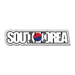 Scrapbook Customs - Travel Photo Journaling - Flag Word - Laser Cut - South Korea