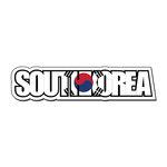 Scrapbook Customs - Travel Photo Journaling - Flag Word - Laser Cut - South Korea