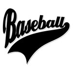 Scrapbook Customs - Sports Collection - Laser Cut - Sports Tails - Baseball