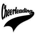 Scrapbook Customs - Sports Collection - Laser Cut - Sports Tails - Cheerleading