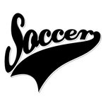 Scrapbook Customs - Sports Collection - Laser Cut - Sports Tails - Soccer