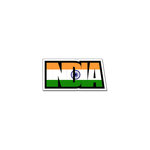 Scrapbook Customs - Flag Word - Laser Cut - India