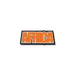 Scrapbook Customs - Country Word - Laser Cut - Africa