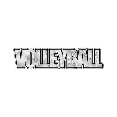 Scrapbook Customs - Word Image - Laser Cut - Volleyball