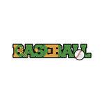 Scrapbook Customs - Dimensional Word - Laser Cut - Baseball
