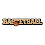 Scrapbook Customs - Dimensional Word - Laser Cut - Basketball