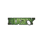 Scrapbook Customs - Dimensional Word - Laser Cut - Rugby