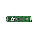 Scrapbook Customs - Dimensional Word - Laser Cut - Soccer