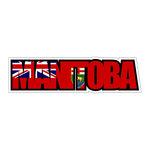 Scrapbook Customs - Flag Word - Laser Cut - Manitoba