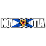 Scrapbook Customs - Flag Word - Laser Cut - Nova Scotia