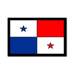 Scrapbook Customs - Laser Cut - Panama Flag