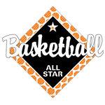 Scrapbook Customs - Basketball Life Collection - Laser Cut - Basketball All Star