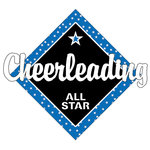 Scrapbook Customs - Cheer Life Collection - Laser Cut - Cheerleading All Star