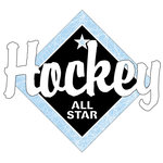 Scrapbook Customs - Hockey Life Collection - Laser Cut - Hockey All Star