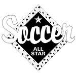 Scrapbook Customs - Soccer Life Collection - Laser Cut - Soccer All Star