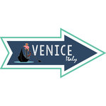 Scrapbook Customs - Travel Adventure Collection - Laser Cut - Venice Memories Arrow