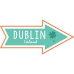 Scrapbook Customs - Travel Adventure Collection - Laser Cut - Dublin Memories Arrow