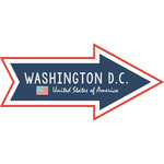 Scrapbook Customs - Travel Adventure Collection - Laser Cut - Washington D.C. Memories Arrow