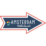 Scrapbook Customs - Travel Adventure Collection - Laser Cut - Amsterdam Memories Arrow