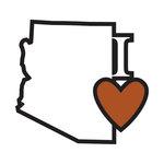 Scrapbook Customs - Adventure Collection - Laser Cut - I Love Arizona