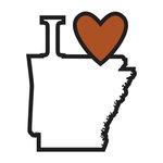 Scrapbook Customs - Adventure Collection - Laser Cut - I Love Arkansas