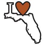 Scrapbook Customs - Adventure Collection - Laser Cut - I Love Florida