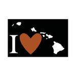 Scrapbook Customs - Adventure Collection - Laser Cut - I Love Hawaii