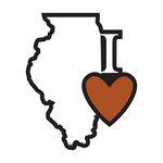 Scrapbook Customs - Adventure Collection - Laser Cut - I Love Illinois