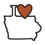 Scrapbook Customs - Adventure Collection - Laser Cut - I Love Iowa