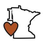 Scrapbook Customs - Adventure Collection - Laser Cut - I Love Minnesota