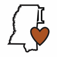 Scrapbook Customs - Adventure Collection - Laser Cut - I Love Mississippi