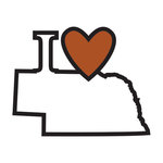 Scrapbook Customs - Adventure Collection - Laser Cut - I Love Nebraska