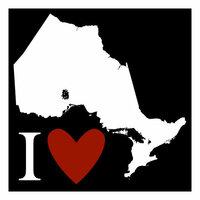 Scrapbook Customs - Canadian Province Adventure Collection - Laser Cut - I Love Ontario