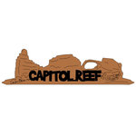 Scrapbook Customs - United States National Parks Collection - Laser Cut - Capitol Reef