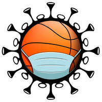 Scrapbook Customs - Covid-19 Collection - Laser Cuts - Basketball