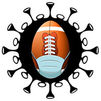 Scrapbook Customs - Covid-19 Collection - Laser Cuts - Football