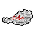 Scrapbook Customs - Sights Collection - Laser Cut - City - Austria