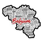 Scrapbook Customs - Sights Collection - Laser Cut - City - Belgium