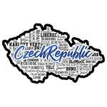 Scrapbook Customs - Sights Collection - Laser Cut - City - Czech Republic