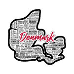 Scrapbook Customs - Sights Collection - Laser Cut - City - Denmark