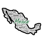 Scrapbook Customs - Sights Collection - Laser Cut - City - Mexico