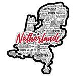 Scrapbook Customs - Sights Collection - Laser Cut - City - Netherlands