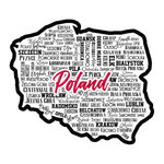 Scrapbook Customs - Sights Collection - Laser Cut - City - Poland